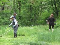 令和元年 家族会草刈無事に終わりました。